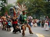 Indigenous marchers