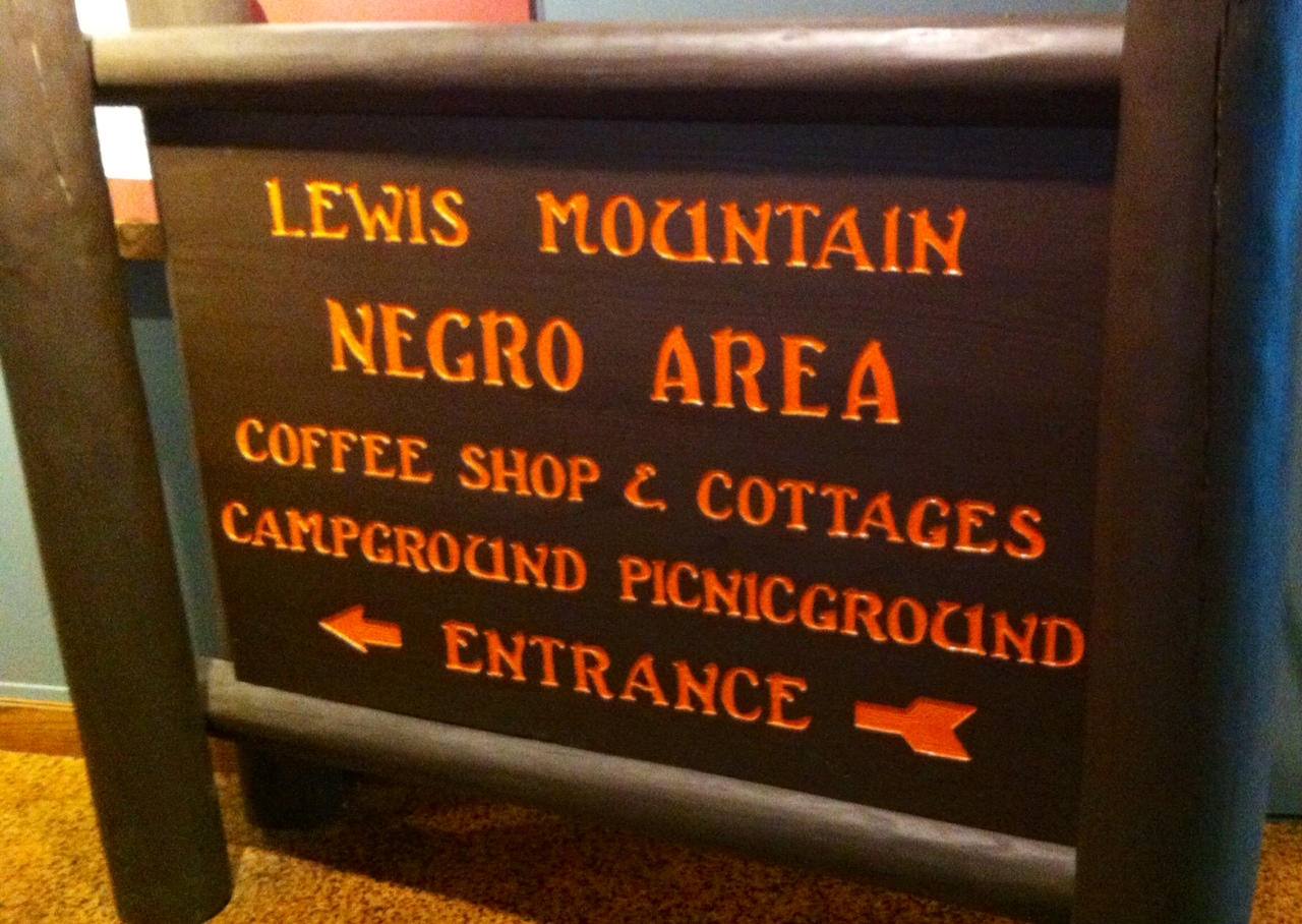 Shenandoah S Lewis Mountain Campground Welcomed African