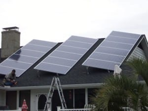 Solar home in palmy place