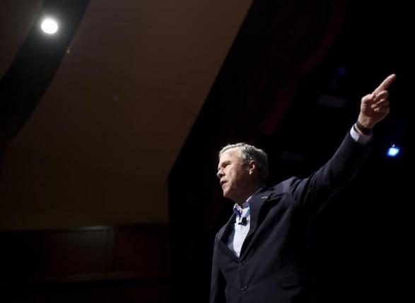 Republican U.S. presidential candidate Jeb Bush speaks during a campaign event in Greenville, South Carolina