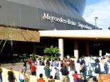 Protesters Crash the Super Dome and Shut Down Gulf Oil Lease Sale