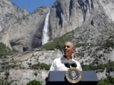 President Obama Visits Yosemite, Urges Americans to 'Get Outdoors' on National Park Service Centennial