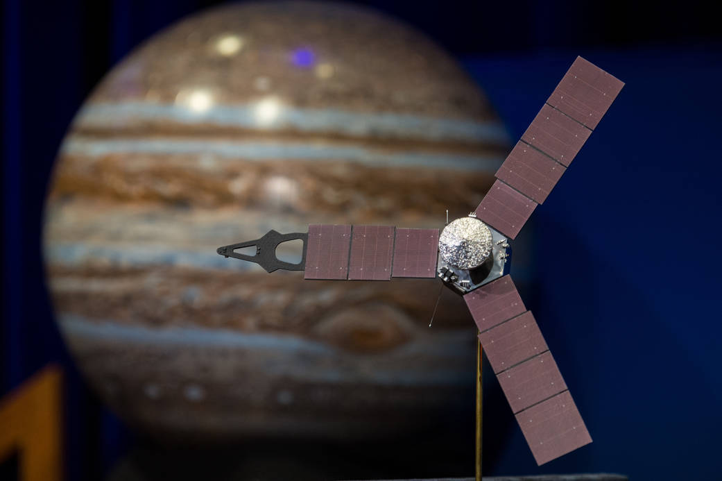 Juno Mission News Briefing