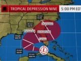 Tropical Depression Nine Forms Near Florida Keys, Heading for the Gulf