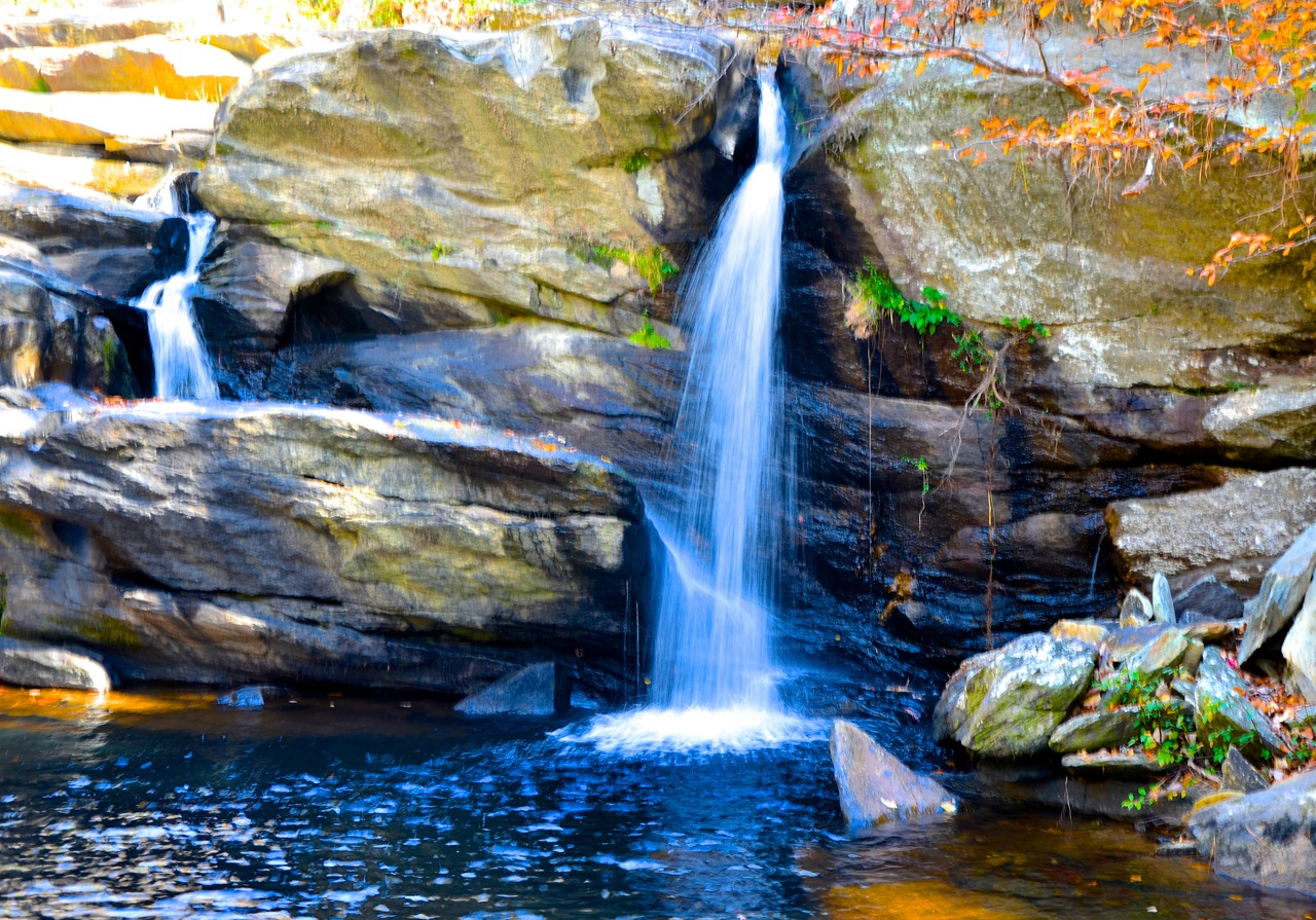 A view of Cheaha Falls in Alabama's Cheaha State Park: Glynn Wilson