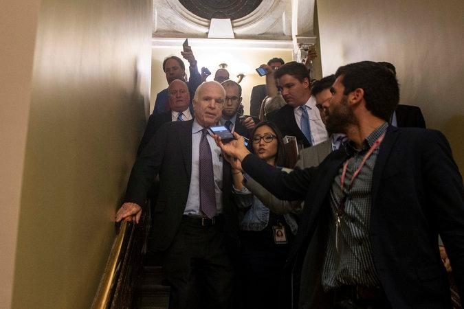 SenatorJohnMcCain-healthcare