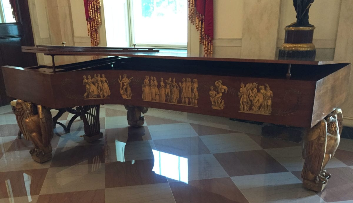 WH piano1a 1200x692 - Photo Essay: A White House Tour