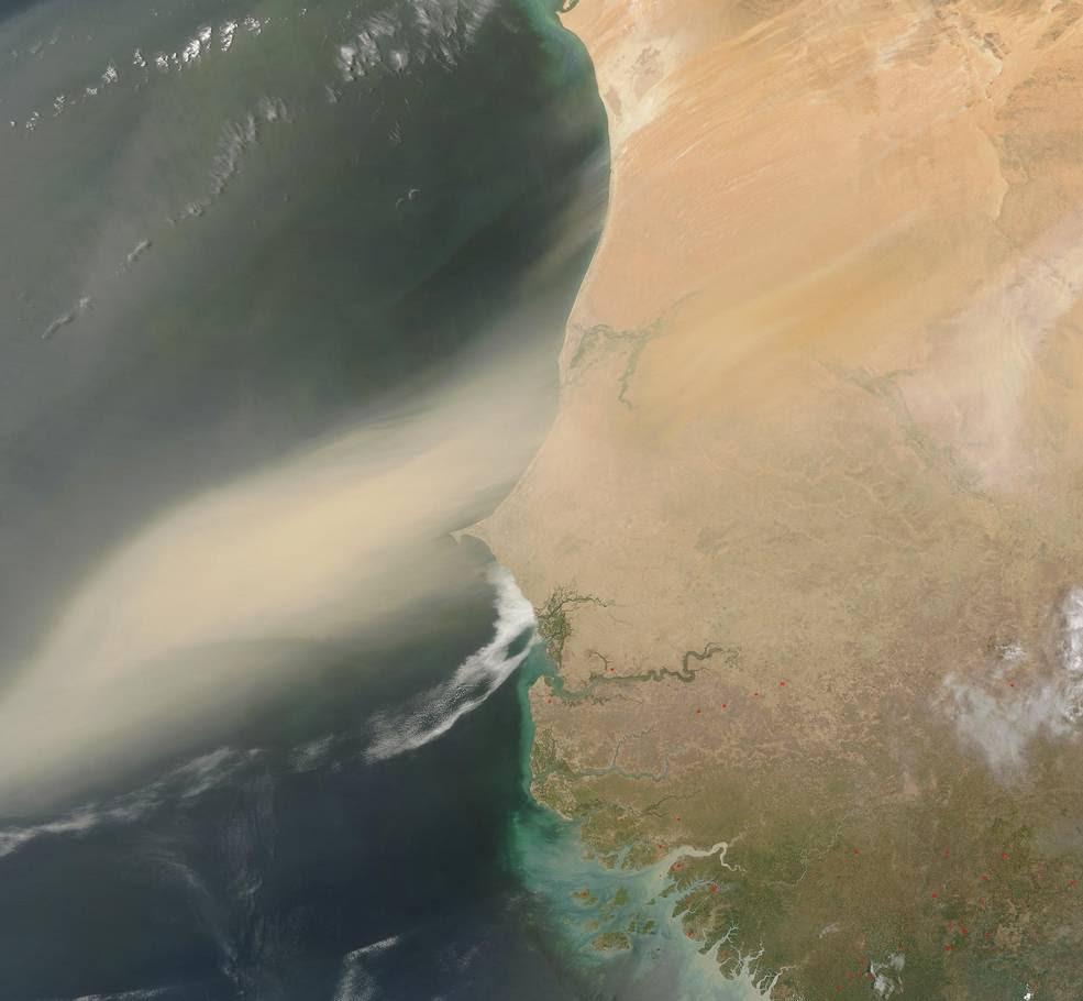 dustplume_Sahara Desert-AtlanticOcean