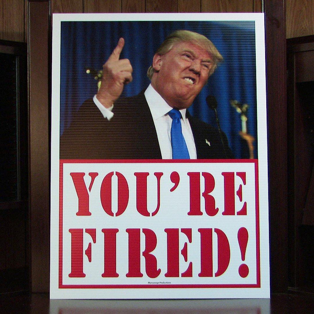 When Will America Fire Trump?   New American Journal