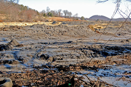 coalash3 - TVA Coal Ash Disaster Revisited: Is it Time for EPA to Regulate the Toxic Sludge as Hazardous Waste?